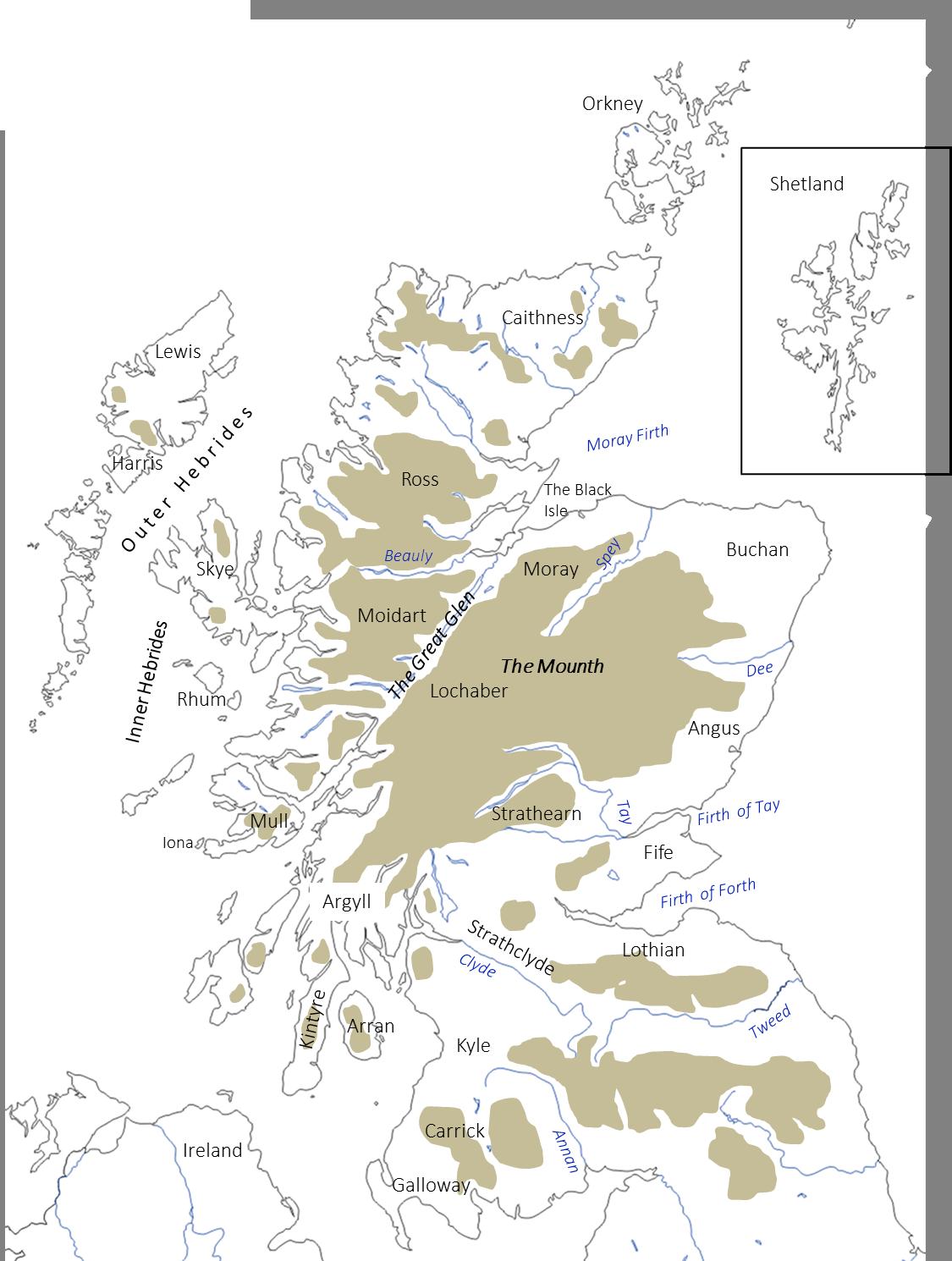 Scotland Regions