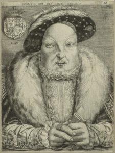 NPG D24928; King Henry VIII by Cornelis Metsys (Massys)