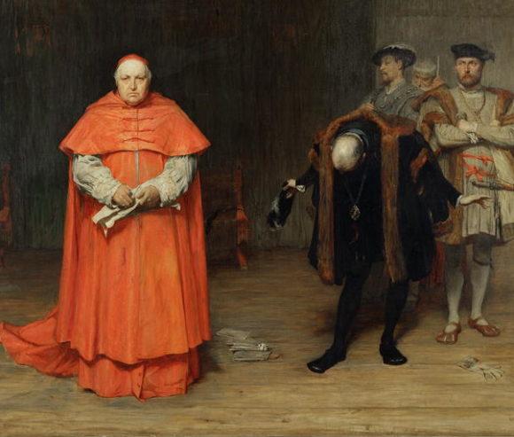 Wolseys disgrace