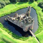 caerlaverock_castle_the_moat
