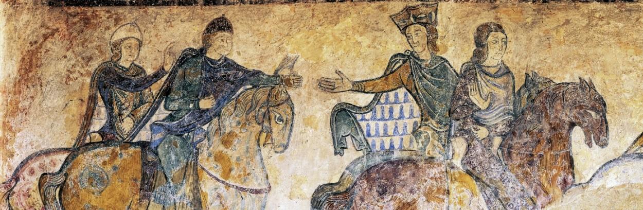 Eleanor of Aquitaine horseback