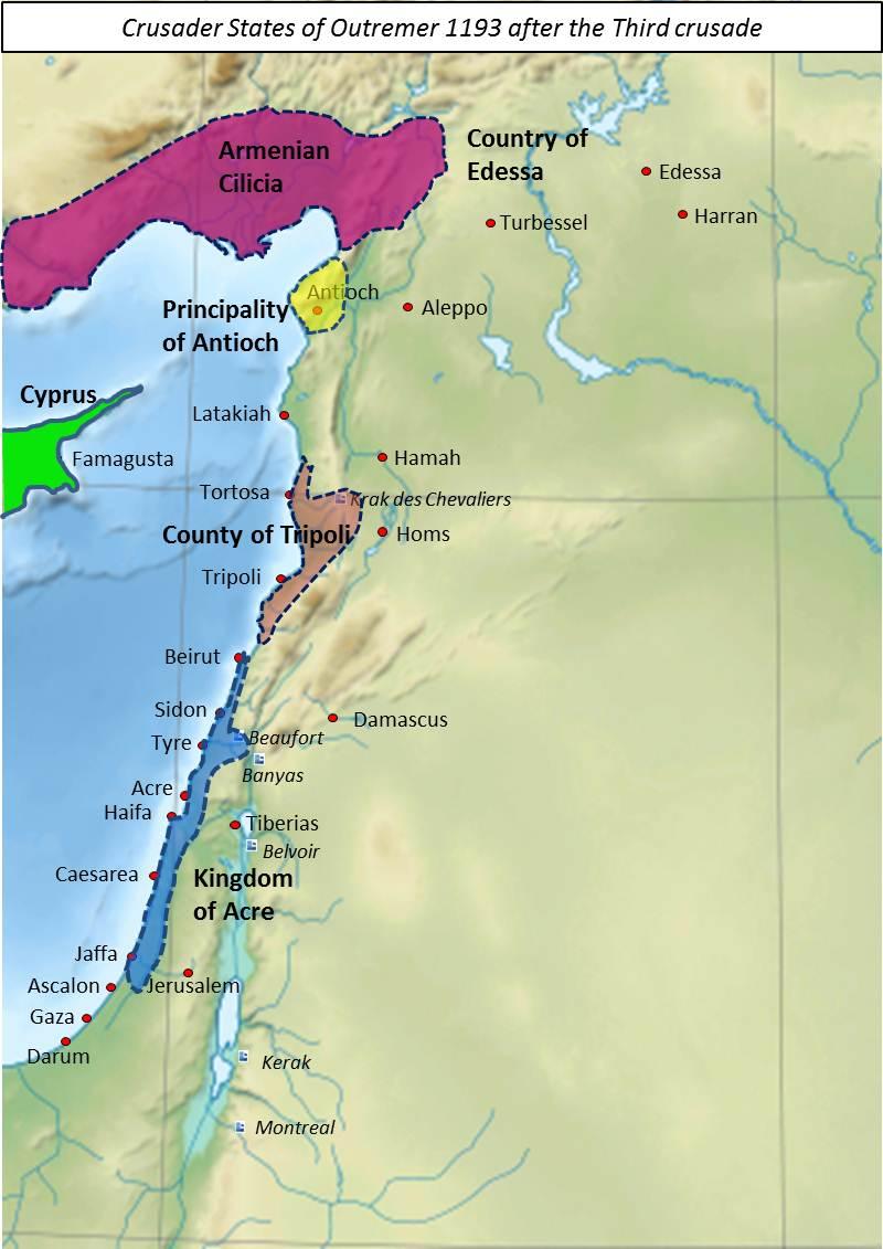 Crusader Outremer 1193