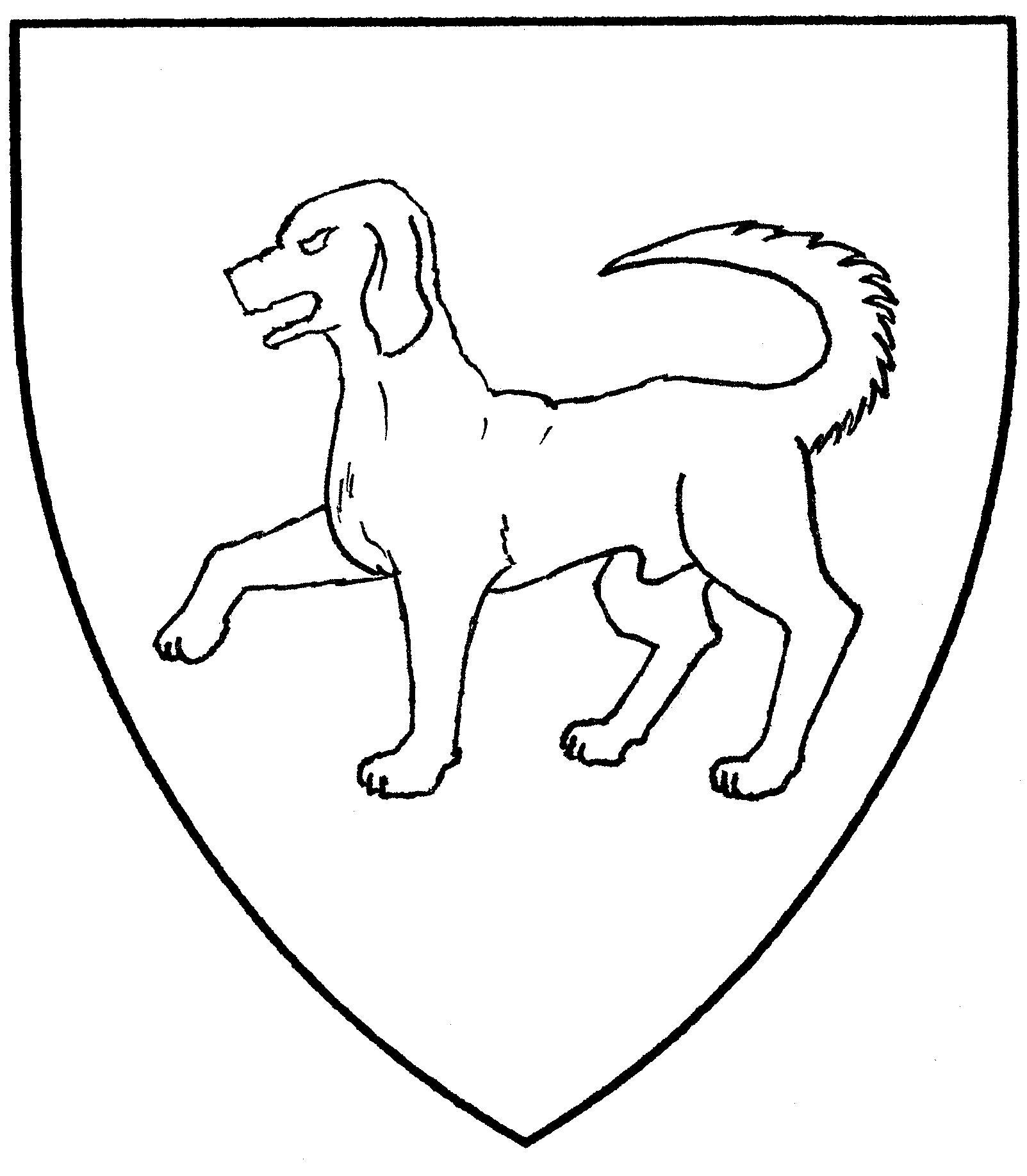 Talbot White Dog